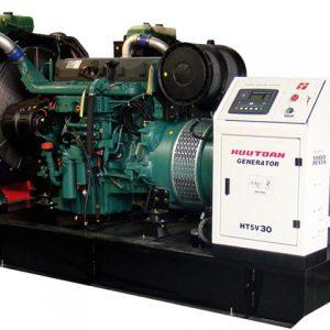 نمای داخلی دیزل ژنراتور volvo مدل HT5V25