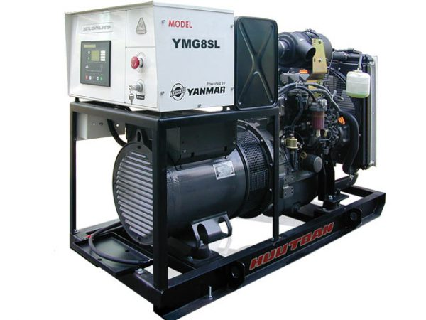 نمای داخلی دیزل ژنراتور YANMAR مدل YMG14SL