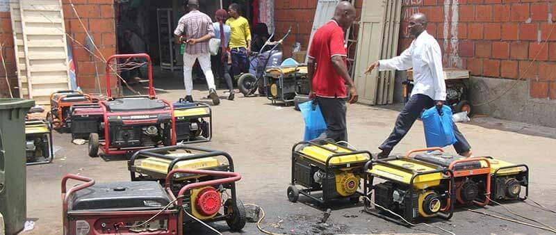 استفاده از موتوربرق بنزینی در کارگاه ها