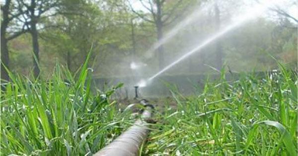 آبیاری با موتور پمپ آب کشاورزی